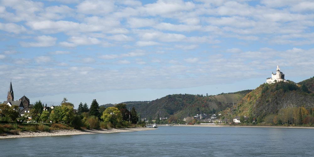 cycling along Rhine and Neckar