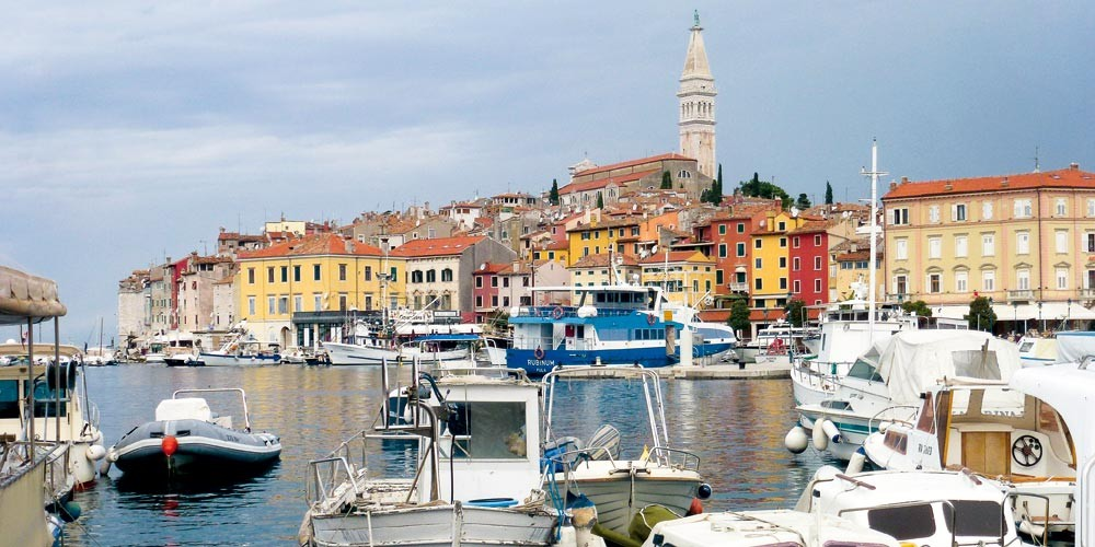 rovinj, istria bike cruise