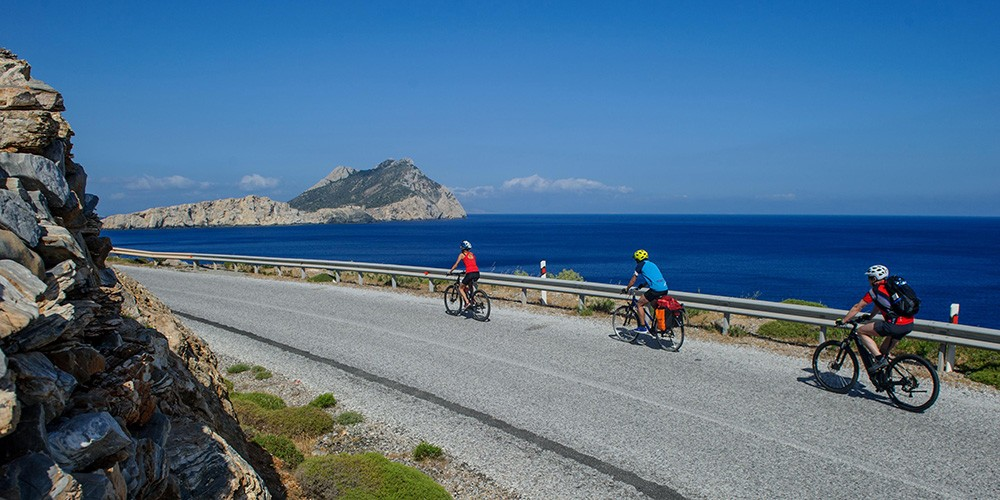 Bike & Boat Pearls of the Aegean – Cyclades & Dodecanese Islands