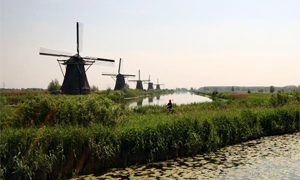 South Holland holidays Windmills & historical towns